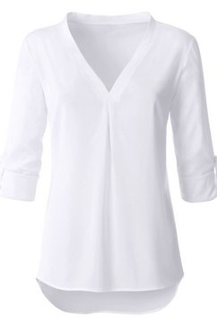 lange blouse met V-hals