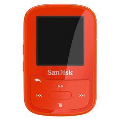 sandisk clip sport plus 16 gb, rood Rood