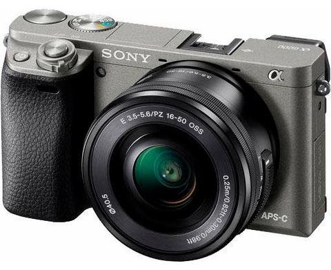 Sony A6000 grafietgrijs + 16-50mm OSS zwart