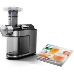 philips »hr1949-20 avance« slow-juicer zilver