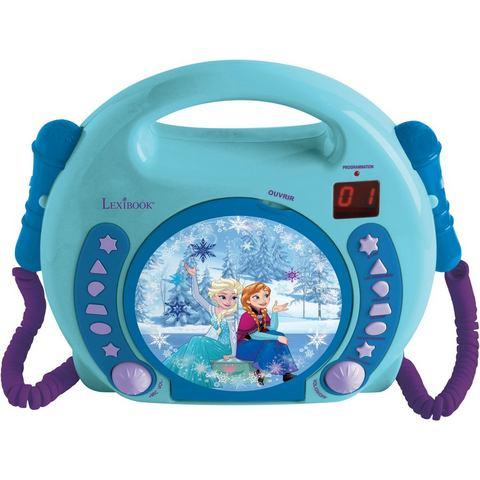 LEXIBOOK, karaoke-CD-speler voor kinderen met 2 microfoons, »Disney Pixar Frozen«