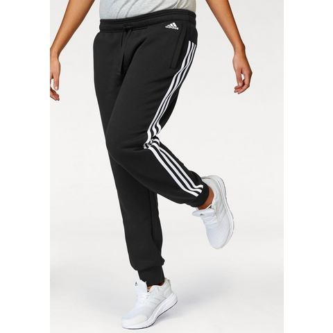 NU 15% KORTING: ADIDAS PERFORMANCE joggingbroek »ESSENTIALS 3 STRIPES PANT CUFFED«