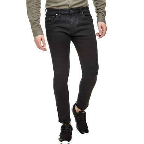 NU 20% KORTING: GUESS 5-pocketsjeans in superskinny-model
