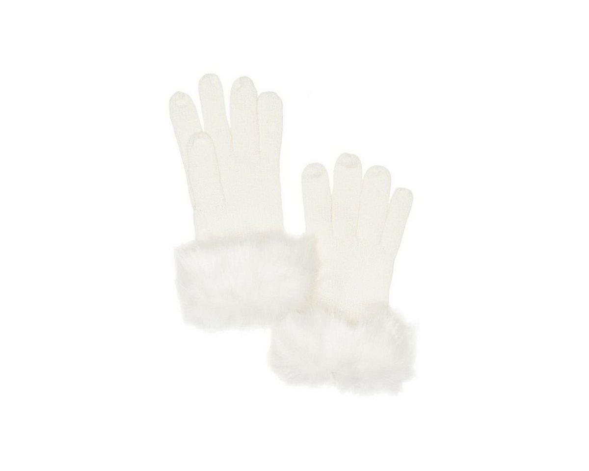 GUESS handschoenen met imitatiebont