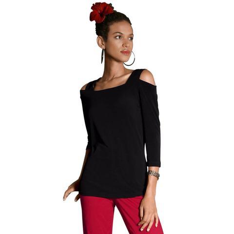 Alessa W. NU 15% KORTING: Alessa W. shirt met een strook bij de hals