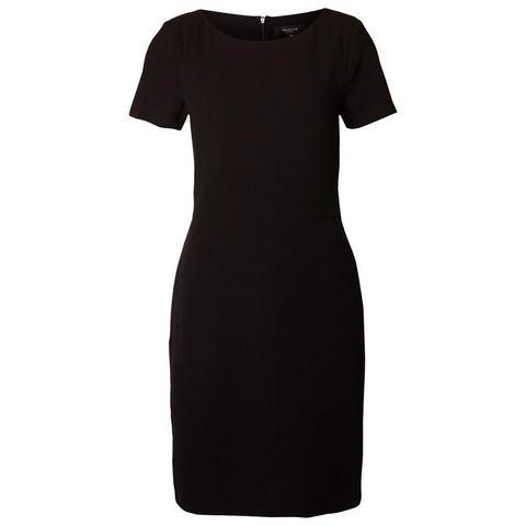 Picture Selected Slim fit - Jurk met korte mouwen zwart 293961