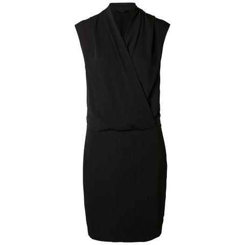 Picture Selected Gedrapeerde - Mouwloze jurk zwart 697640