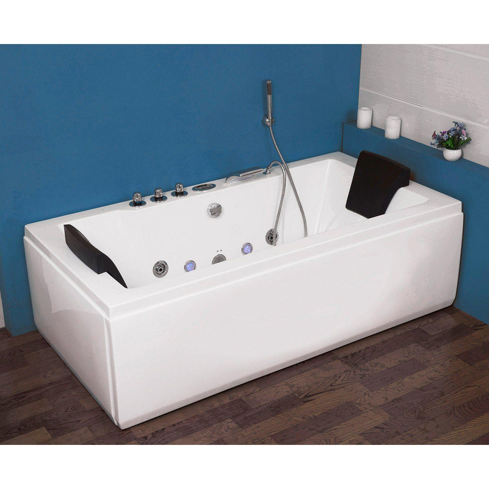 Whirlpool Bad Informatie : Complete set whirlpoolbad white m light« bxdxh in cm