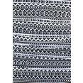venice beach badpak ethno contrastrijke all-over print zwart