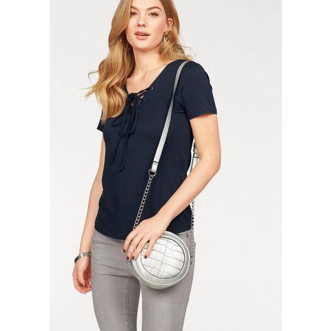 NU 21% KORTING: VERO MODA T-shirt »FINE«