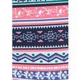 s.oliver red label beachwear bikinibroekje barcelona met omslagband in contrastkleur blauw