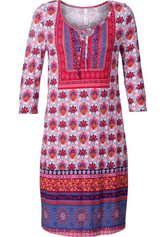 sheego Style Sheego Style jerseyjurk rood