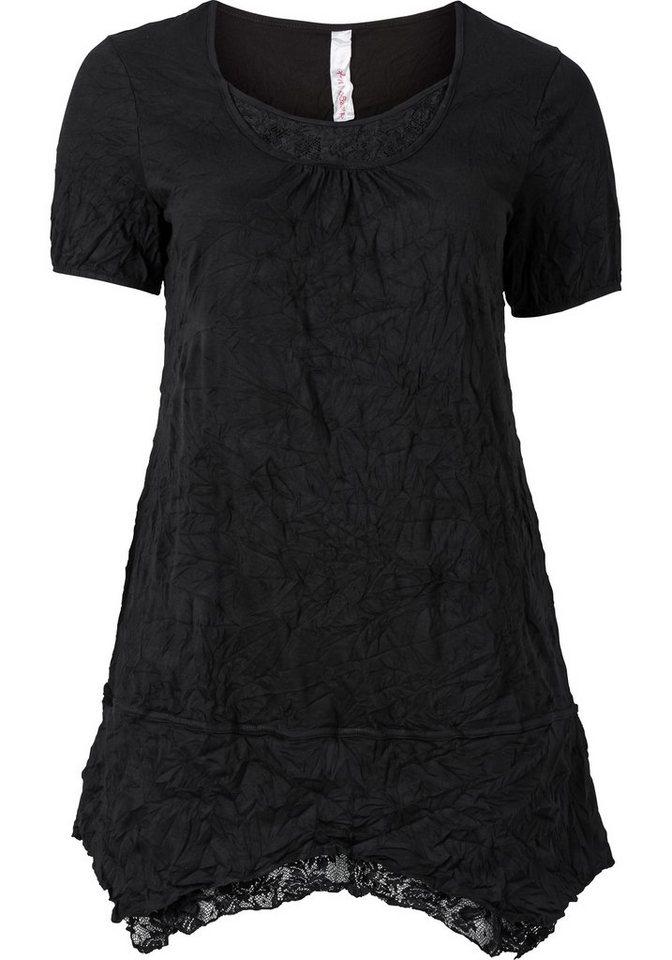 sheego Style Sheego Style jerseyjurk zwart