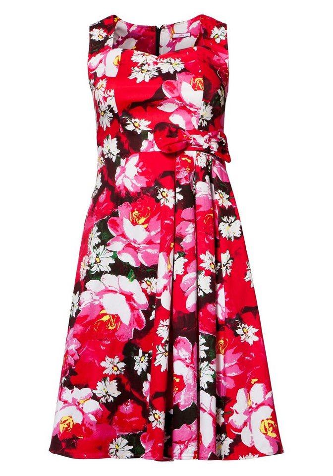 Joe Browns Joe Browns jurk met kleurrijke bloemenprint multicolor