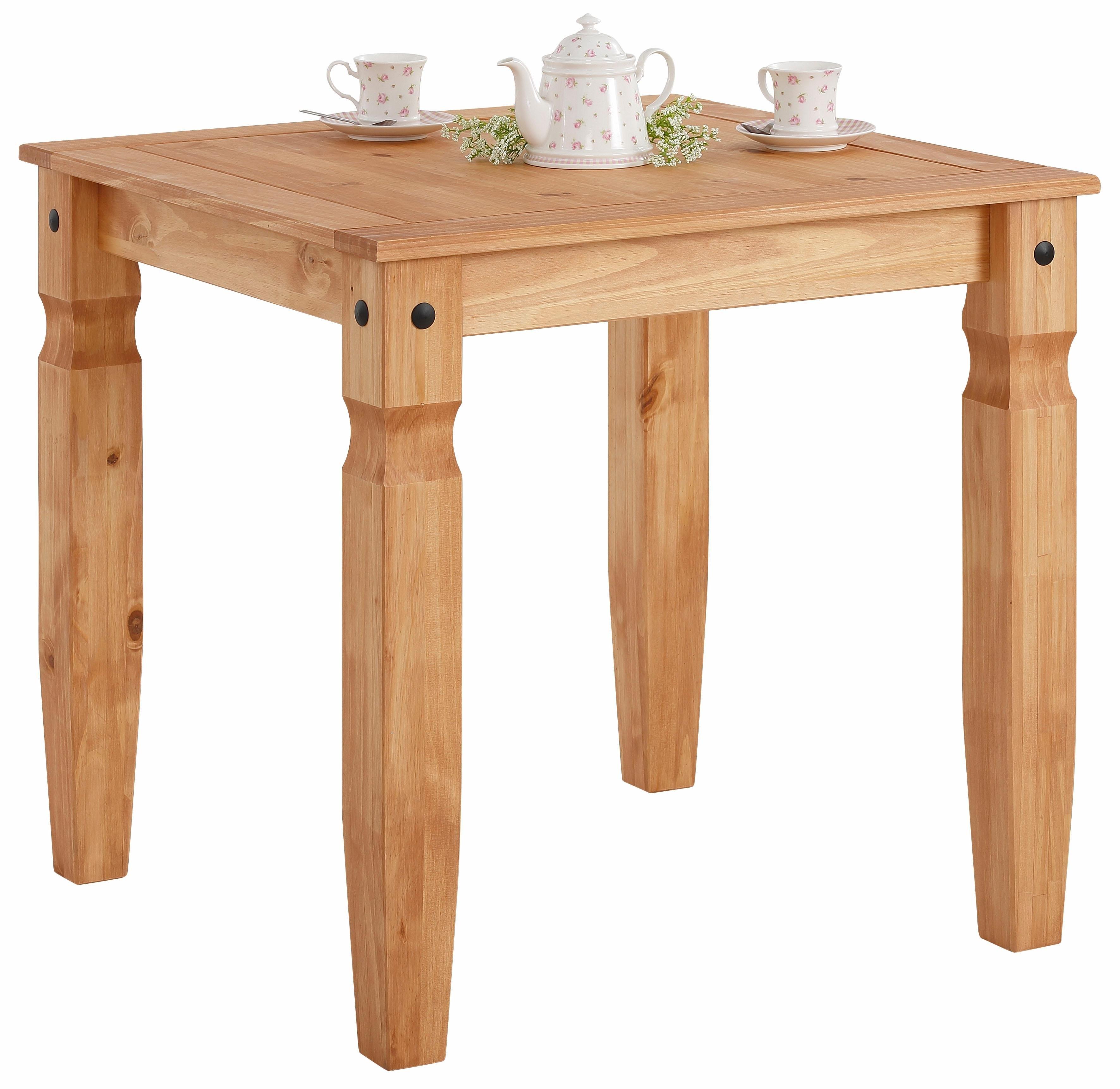 Vierkante Grenen Tafel.Eettafel