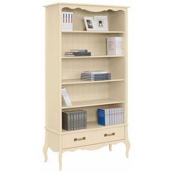 home affaire boekenkast 'lebo', met soft-closesysteem, breedte: 108 cm beige