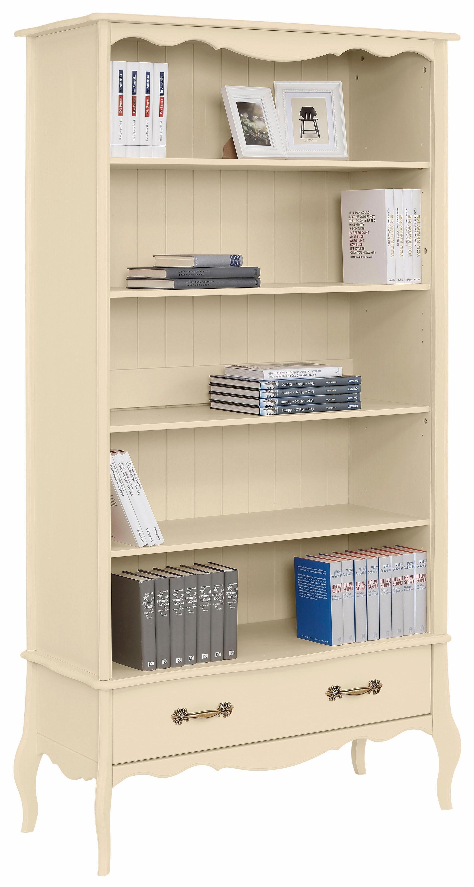 Home affaire boekenkast \'Lebo\', met soft-closesysteem, breedte: 108 ...
