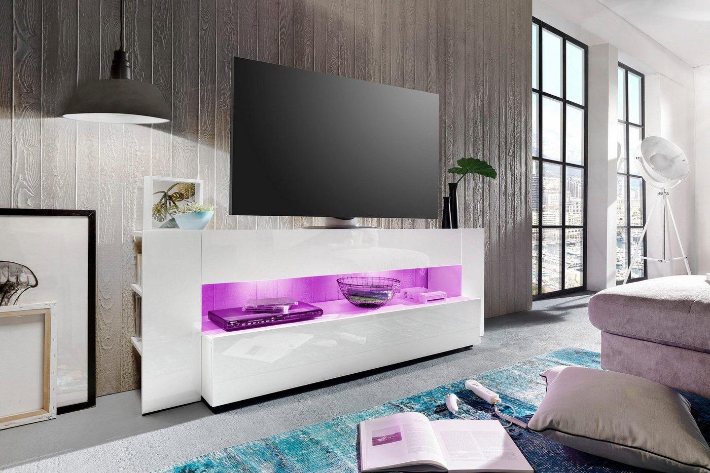 TV-meubel Onyx, breedte 185 cm