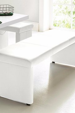 homexperts zitbank optioneel met rugleuning (1 stuk) wit