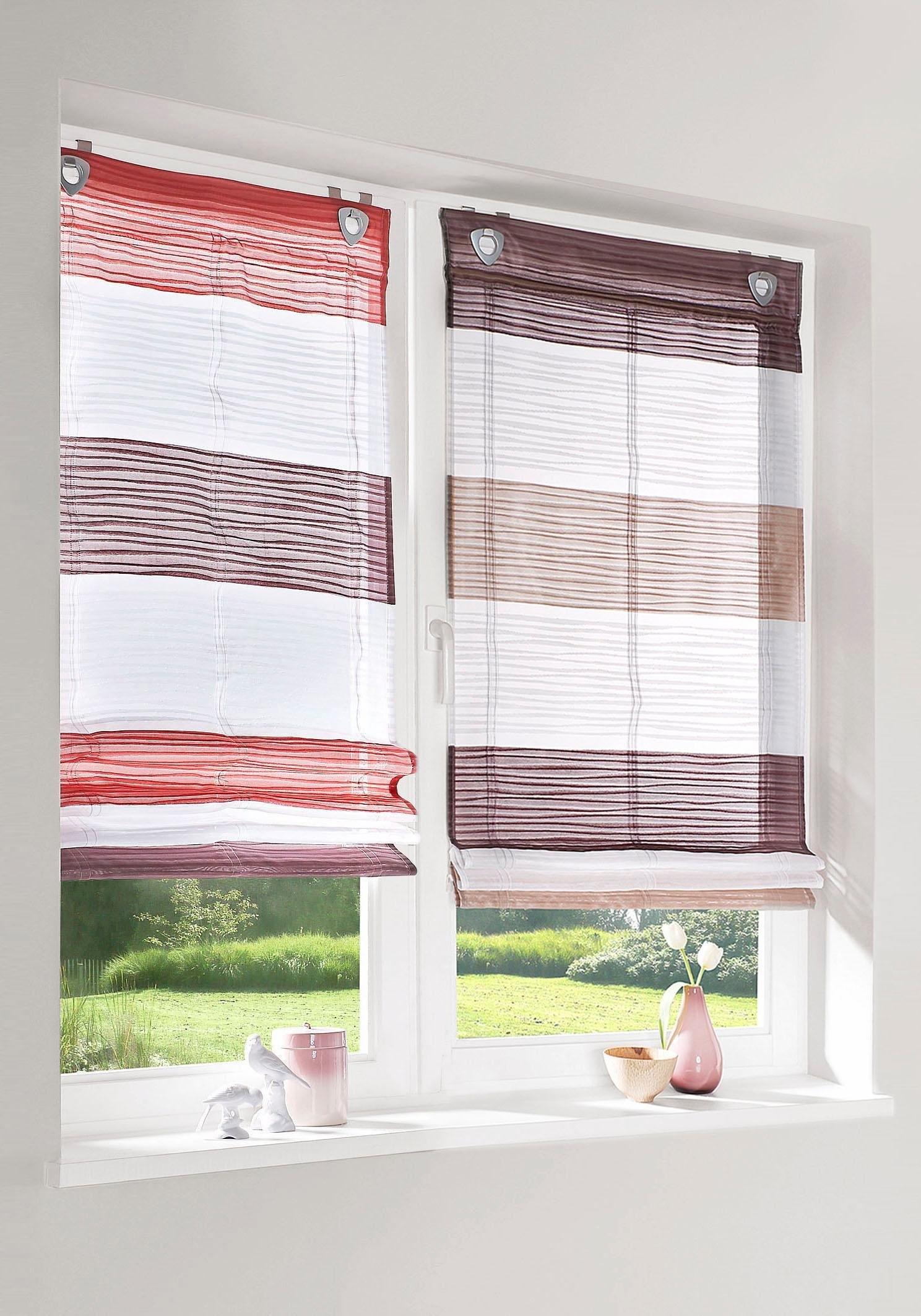 vouwgordijn home wohnideen 39 sarnia 39 online kopen otto. Black Bedroom Furniture Sets. Home Design Ideas