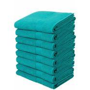 handdoek, my home, »juna«, 8-delige set blauw