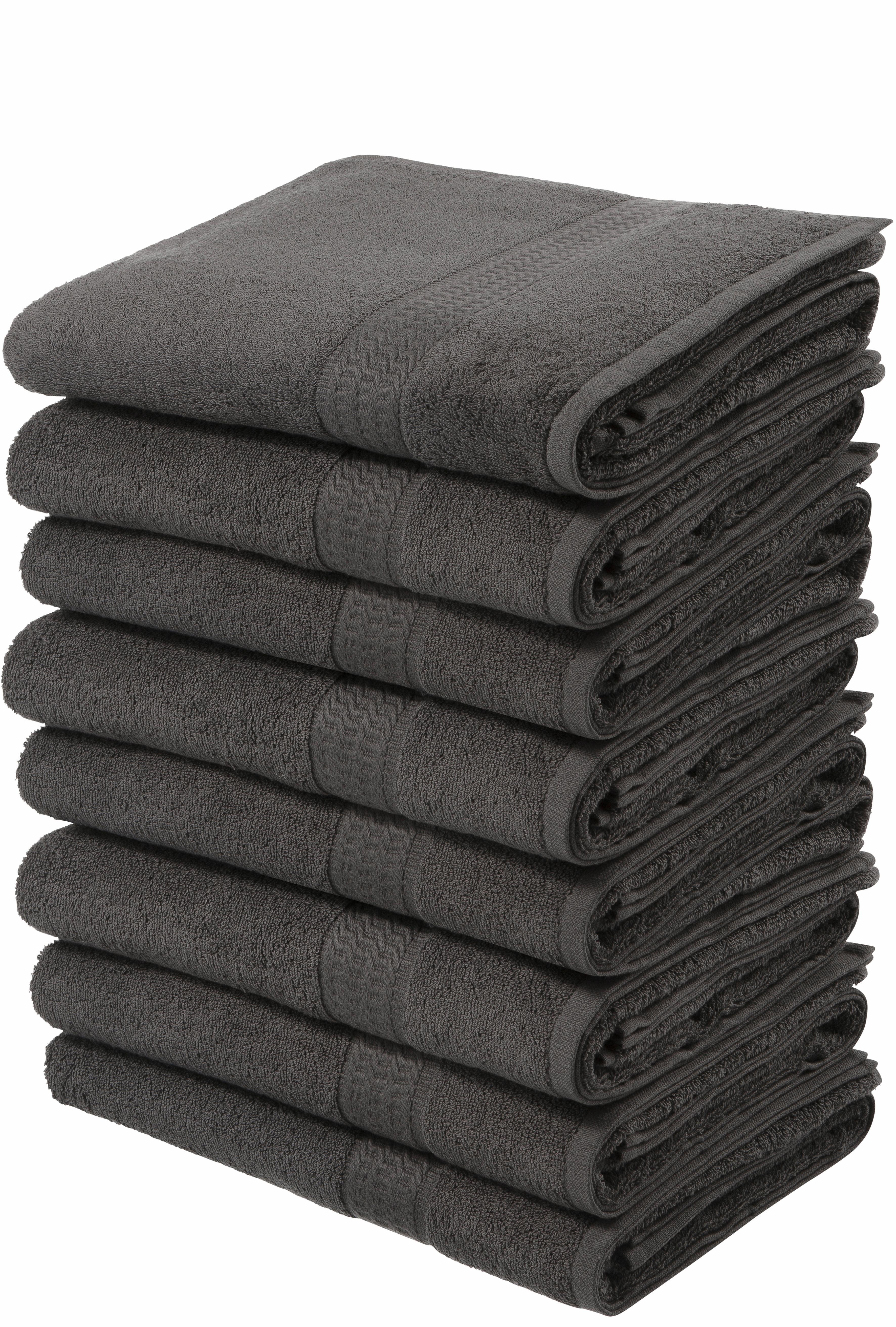my home handdoeken Juna in een voordeelpakket (8 stuks) nu online kopen bij OTTO