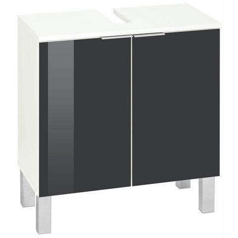 KESPER kast Tessin met 2 deuren grijze badkamer wastafelonderkast 67