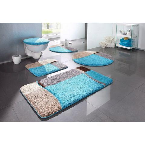 MY HOME Mat voor staand toilet Belio 2-delige set