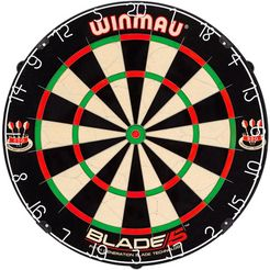 winmau dartbord blade 5 multicolor