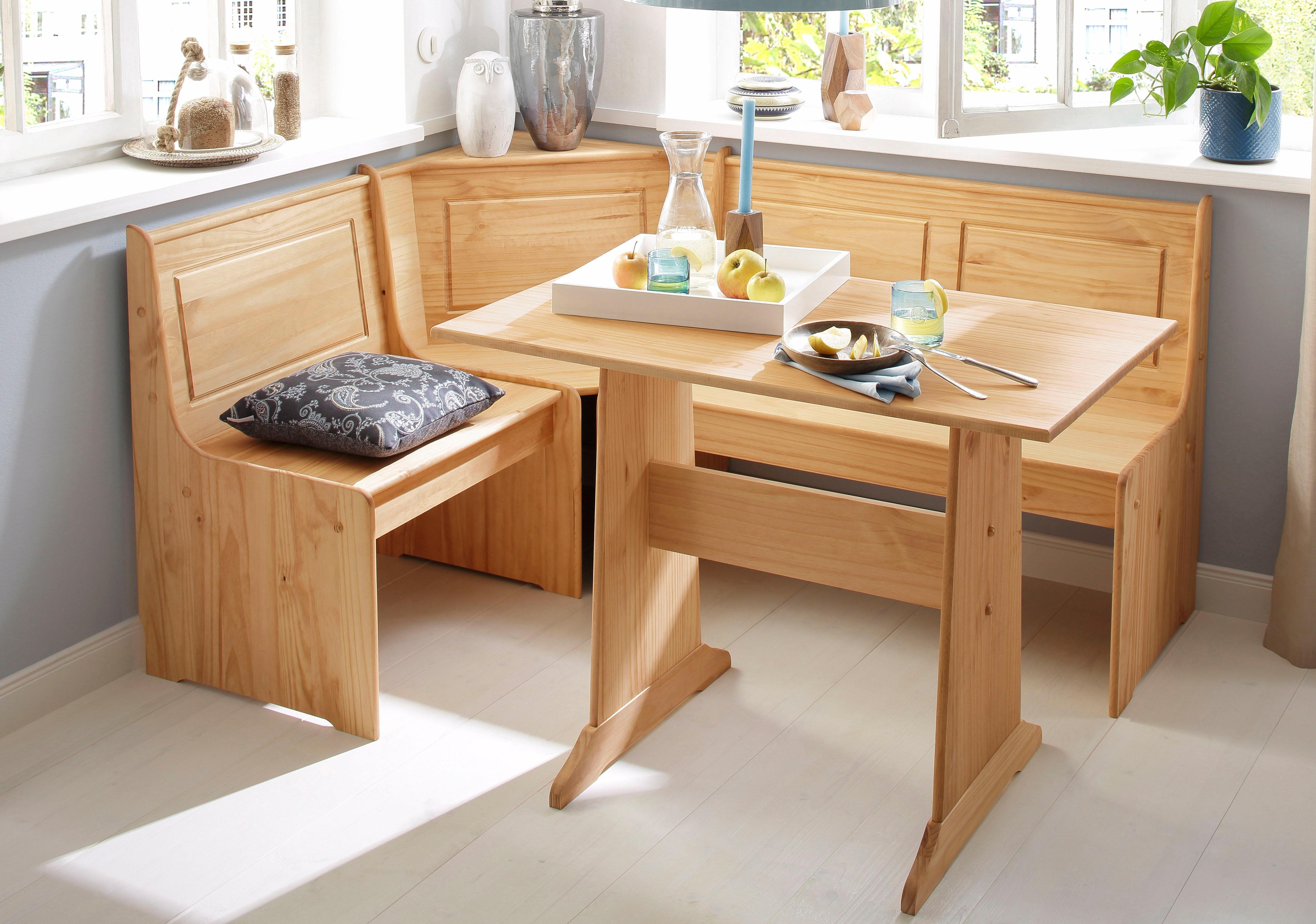 Home Affaire eethoek »Sascha« met tafel en hoekbank met opbergruimte nu online bestellen