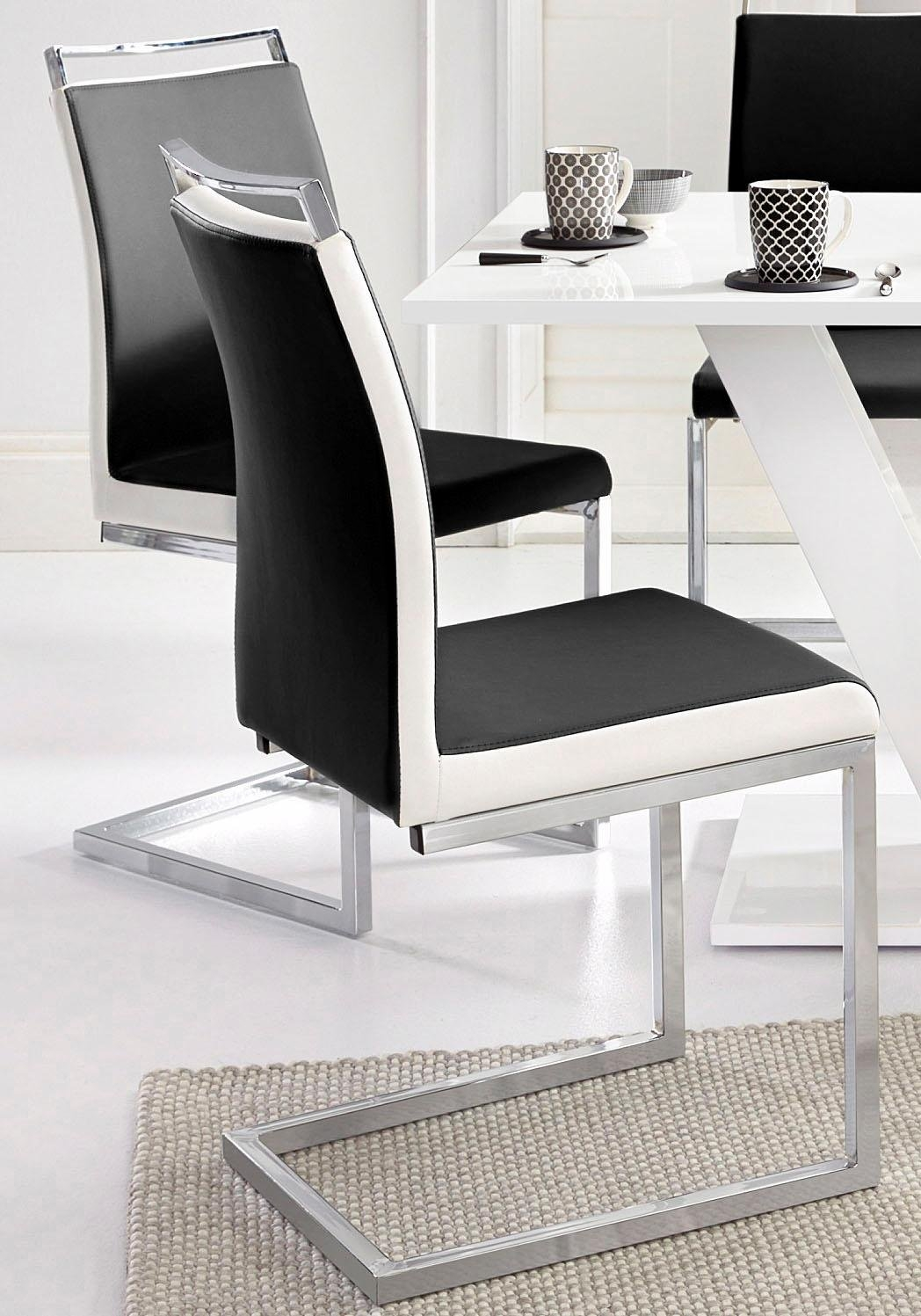 Vrijdragende stoel (set van 2) - gratis ruilen op otto.nl