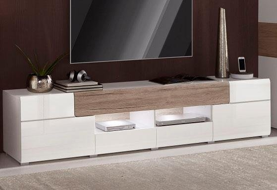 Trendmanufaktur XXL-lowboard, breedte 209 cm voordelig en veilig online kopen