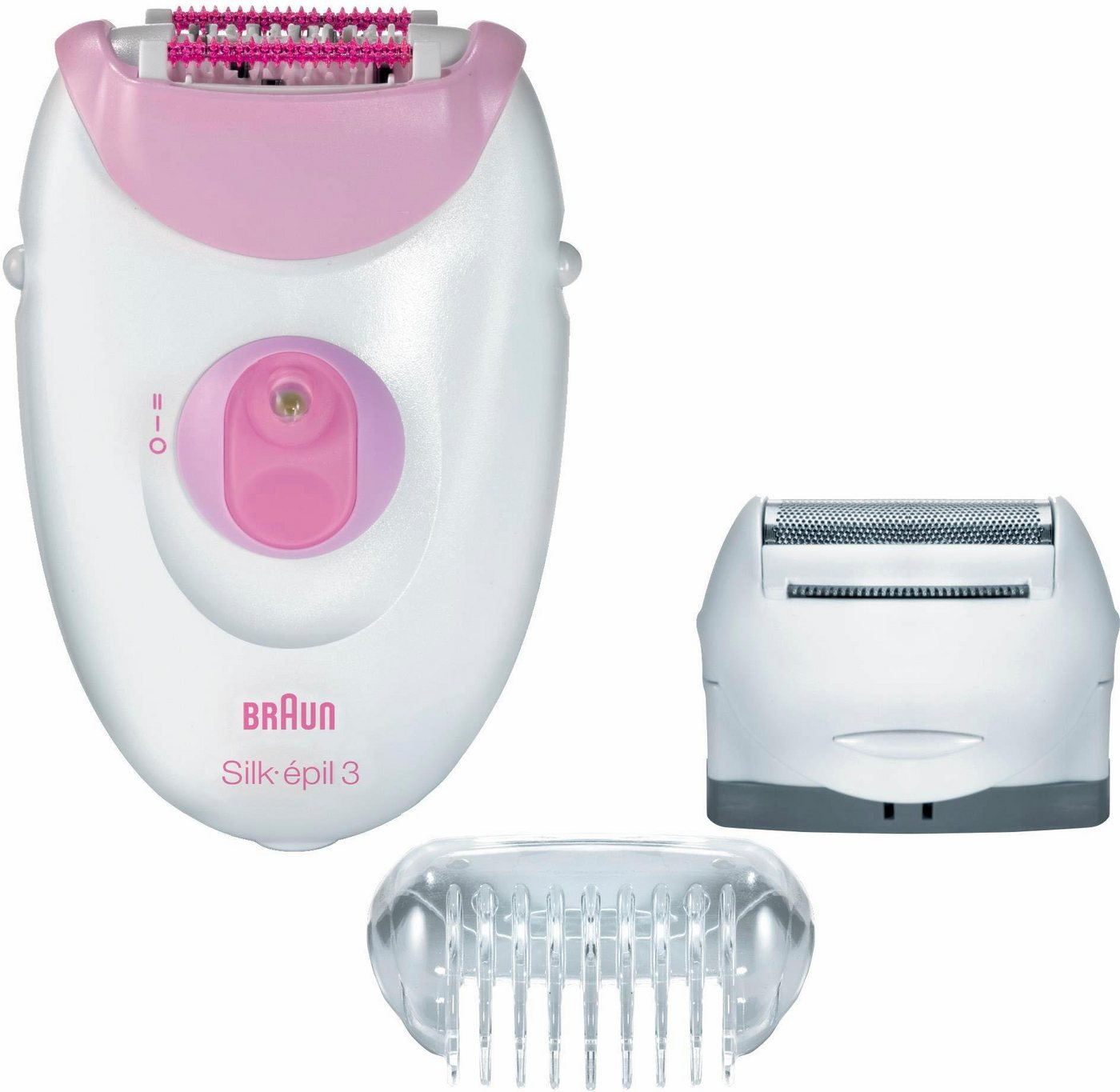 BRAUN Epilator Silk-épil 3 Legs & Body 3270