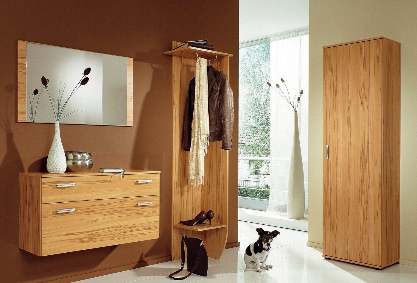 Garderobekast 8003 in hout-look