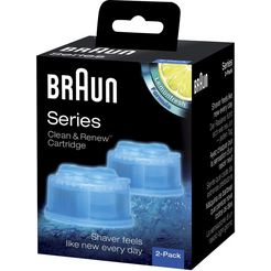 reserveverpakking, braun, 'clean  renew' zwart