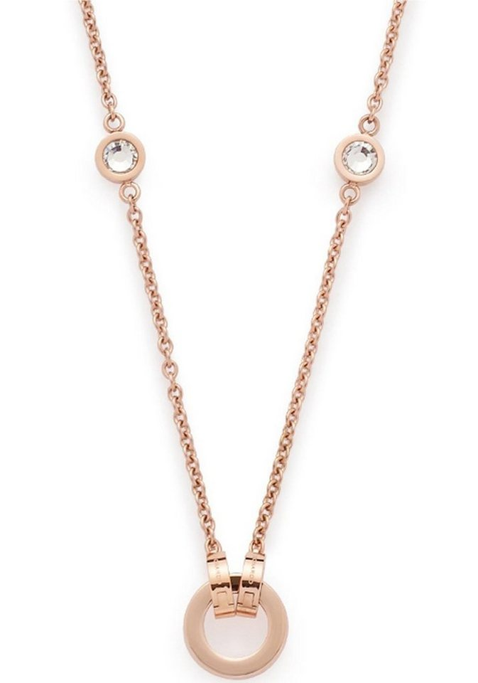 JEWELS BY LEONARDO bedelketting »Essenza Darlin's roségold 016123«