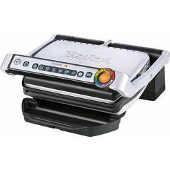 tefal elektrisch grillapparaat optigrill gc702d zwart
