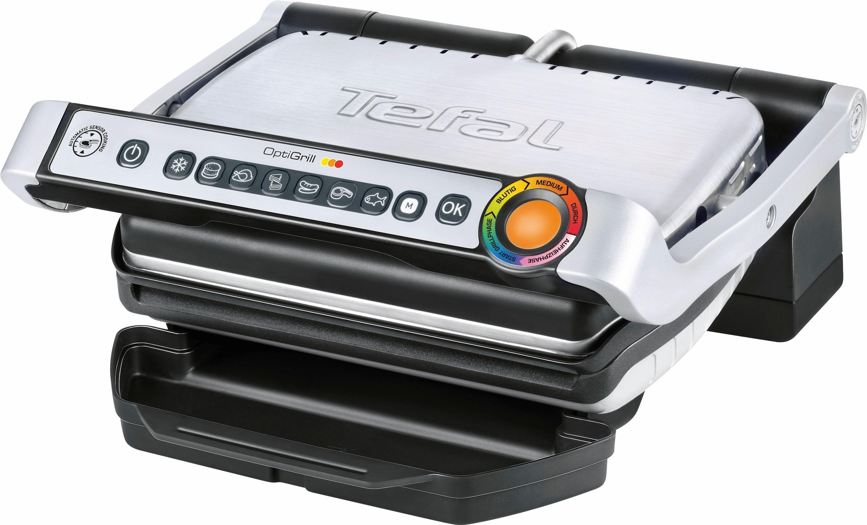 Tefal Elektrisch grillapparaat Optigrill GC702D in de webshop van OTTO kopen