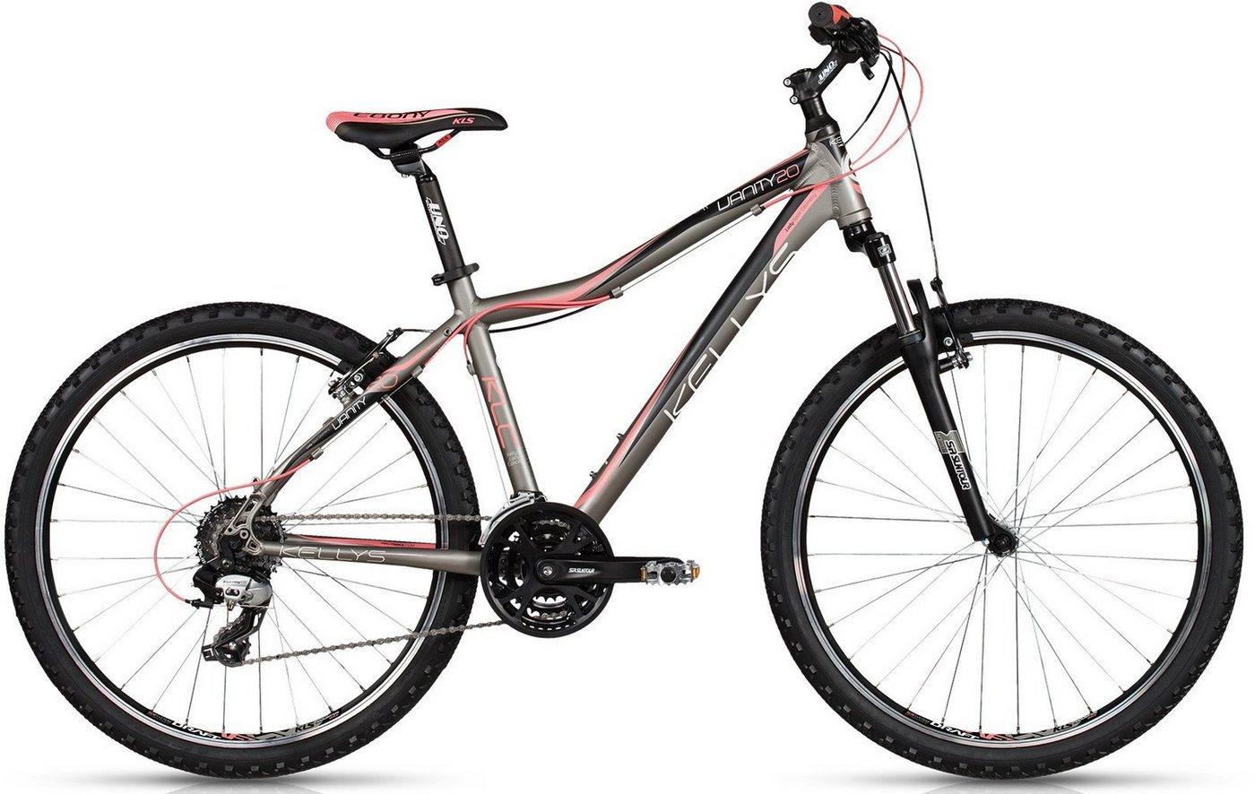 - KELLYS hardtail - mountainbike voor vrouwen, 26 inch, Shimano TX800, 24 versnellingen, Vanity