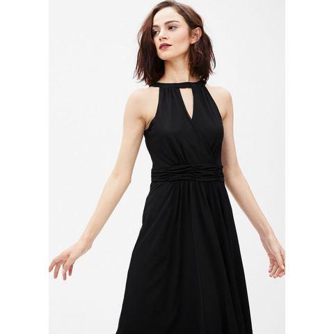 NU 15 KORTING s.Oliver BLACK LABEL Schoudervrije jurk van mesh