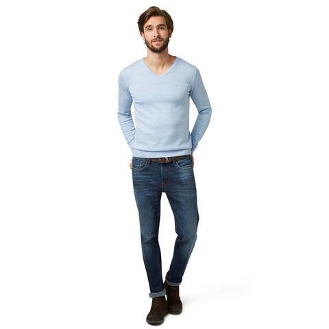 NU 20% KORTING: TOM TAILOR Jeans »Josh Jeans mit Bleachings«