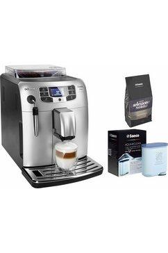 volautomatisch koffiezetapparaat HD8900/11 Intelia Bella met panarello, zilverkleur