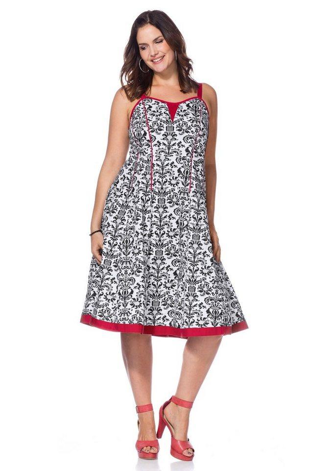 NU 21% KORTING: Joe Browns Joe Browns verleidelijke jurk met smalle bandjes multicolor