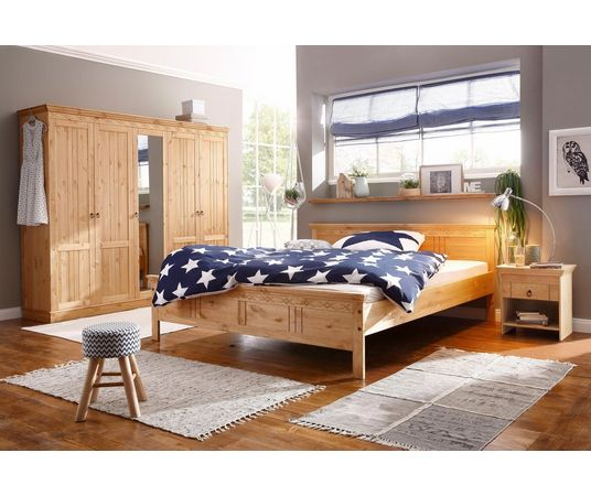home affaire slaapkamerserie indra 4 dlg met decoratief freeswerk in de online winkel otto. Black Bedroom Furniture Sets. Home Design Ideas