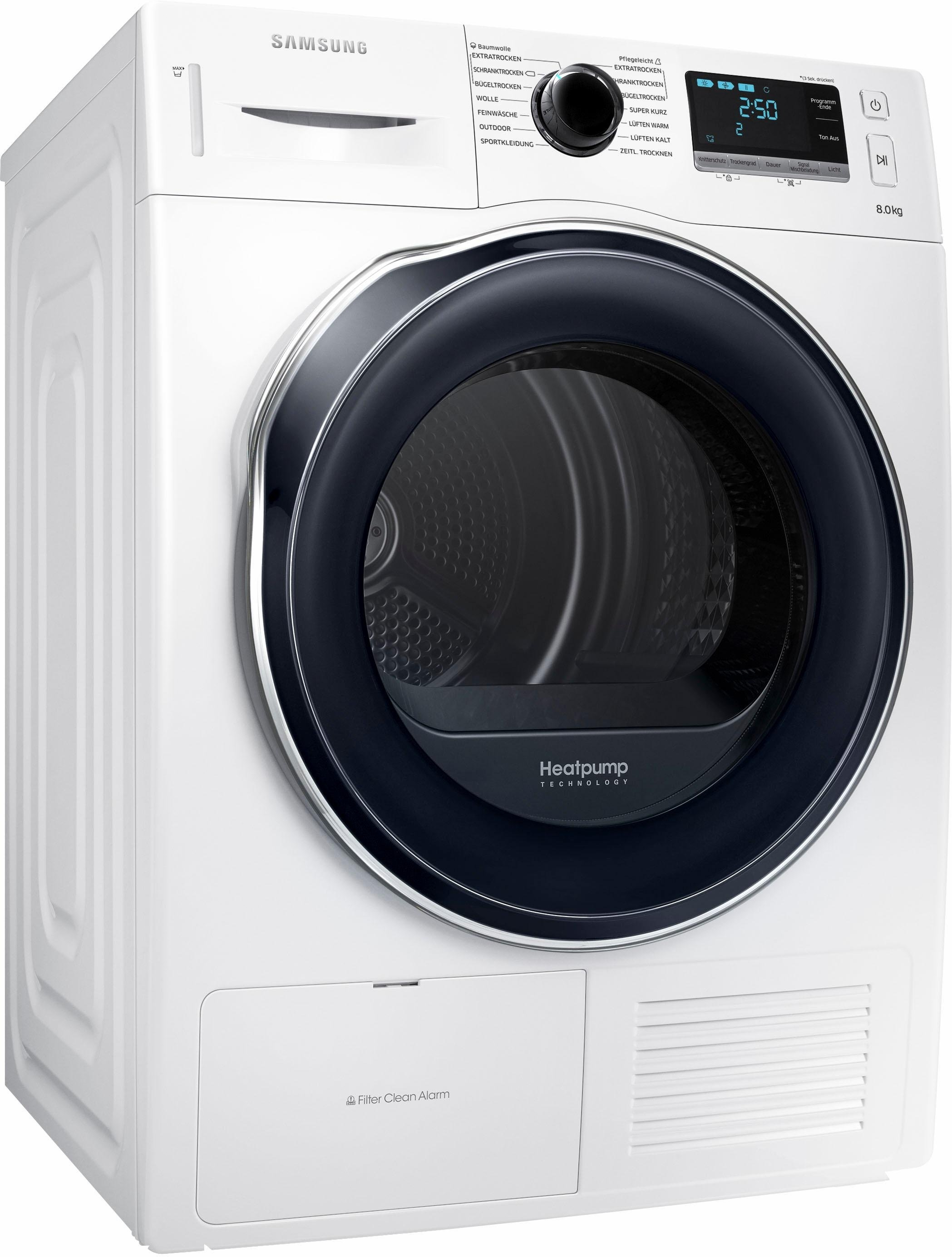SAMSUNG warmtepompdroger DV6000 DV80K6010CW/EG voordelig en veilig online kopen