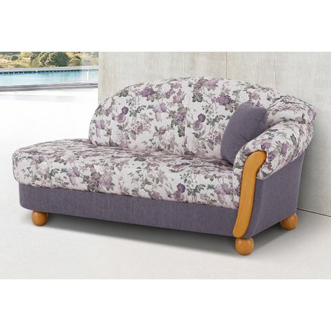 woonkamer driepersoons bankstel paars Chenille paradise HOME AFFAIRE chaise longue Milano