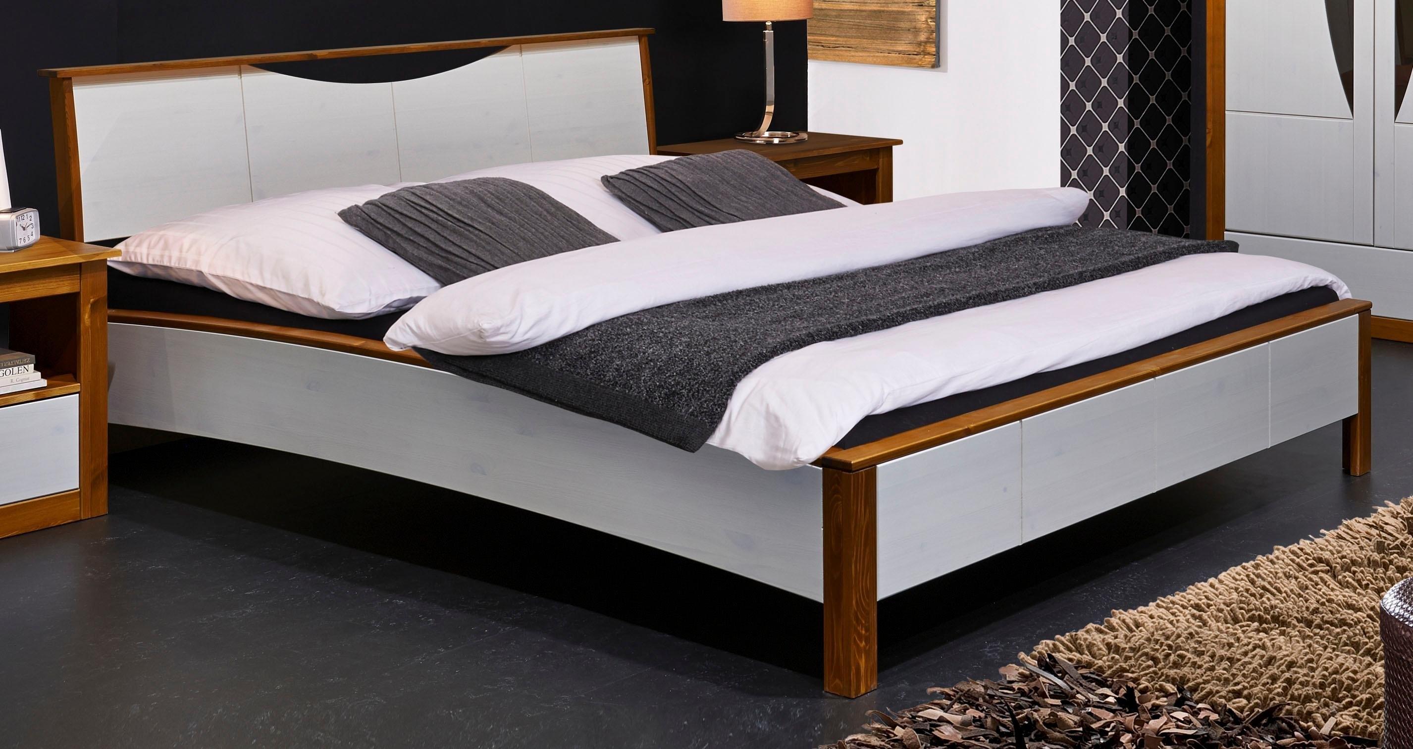 Home affaire massief houten ledikant Arosa met ligoppervlak 140 of 180 cm bestellen: 30 dagen bedenktijd