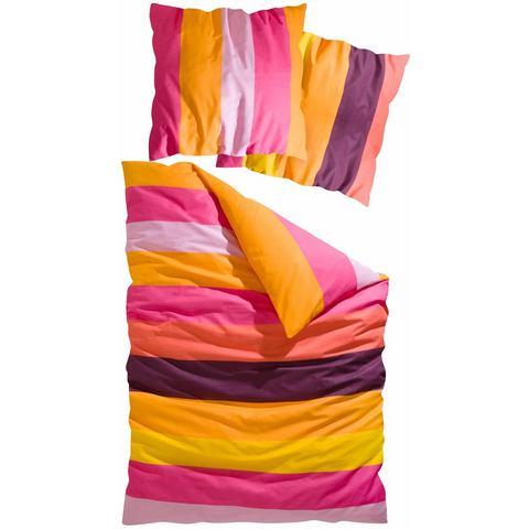 Overtrekset, MY HOME, »Bura«, met kleurrijke strepen