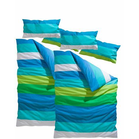 My Home Overtrekset, MY HOME, Bura, met kleurrijke strepen