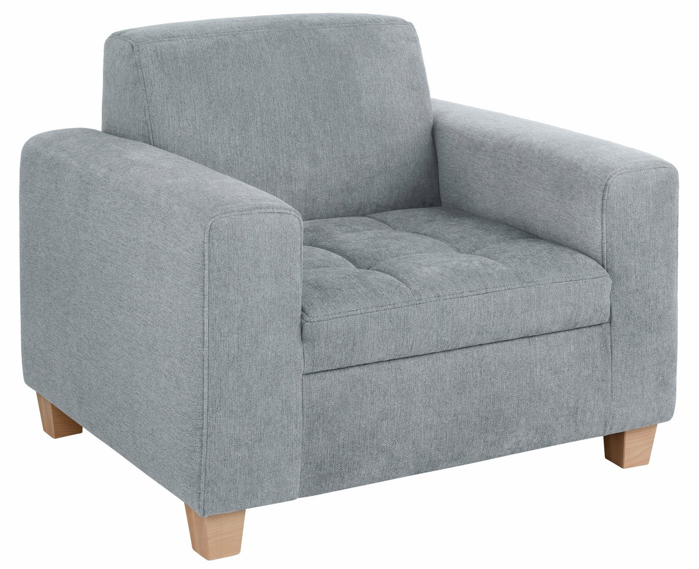Home affaire fauteuil, stiksels op zitoppervlak